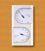 ミニ温湿度計